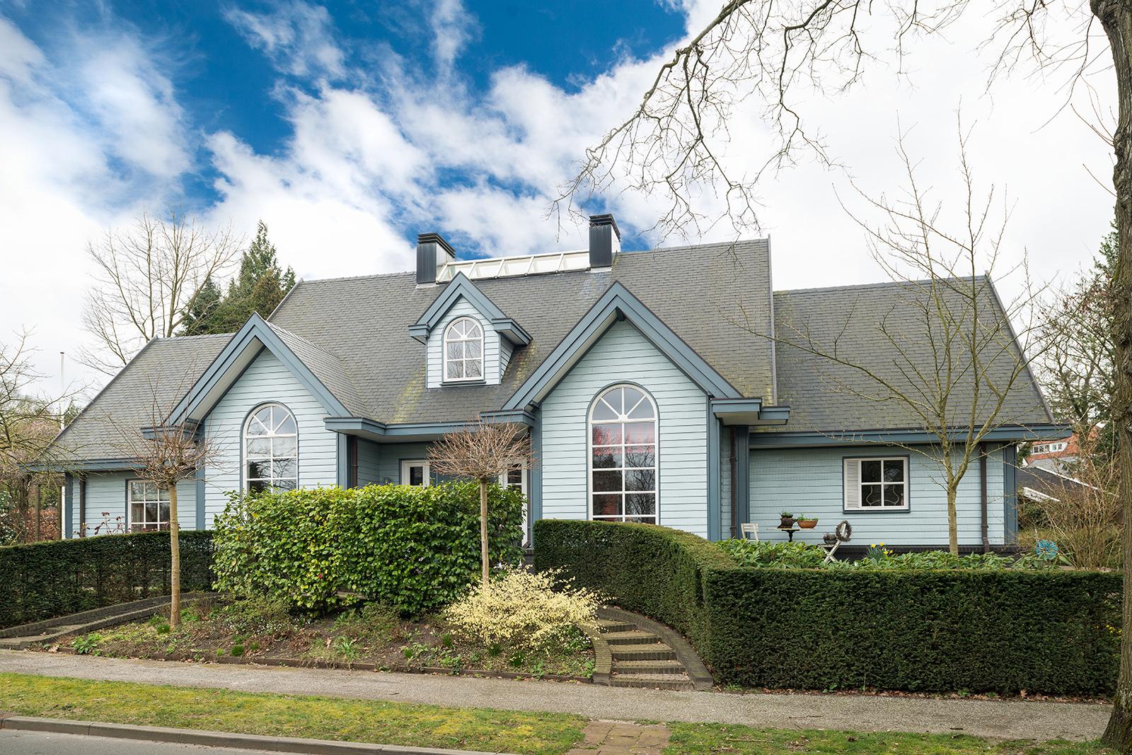 Villa in amerikaanse stijl finnlogs houtbouw bv