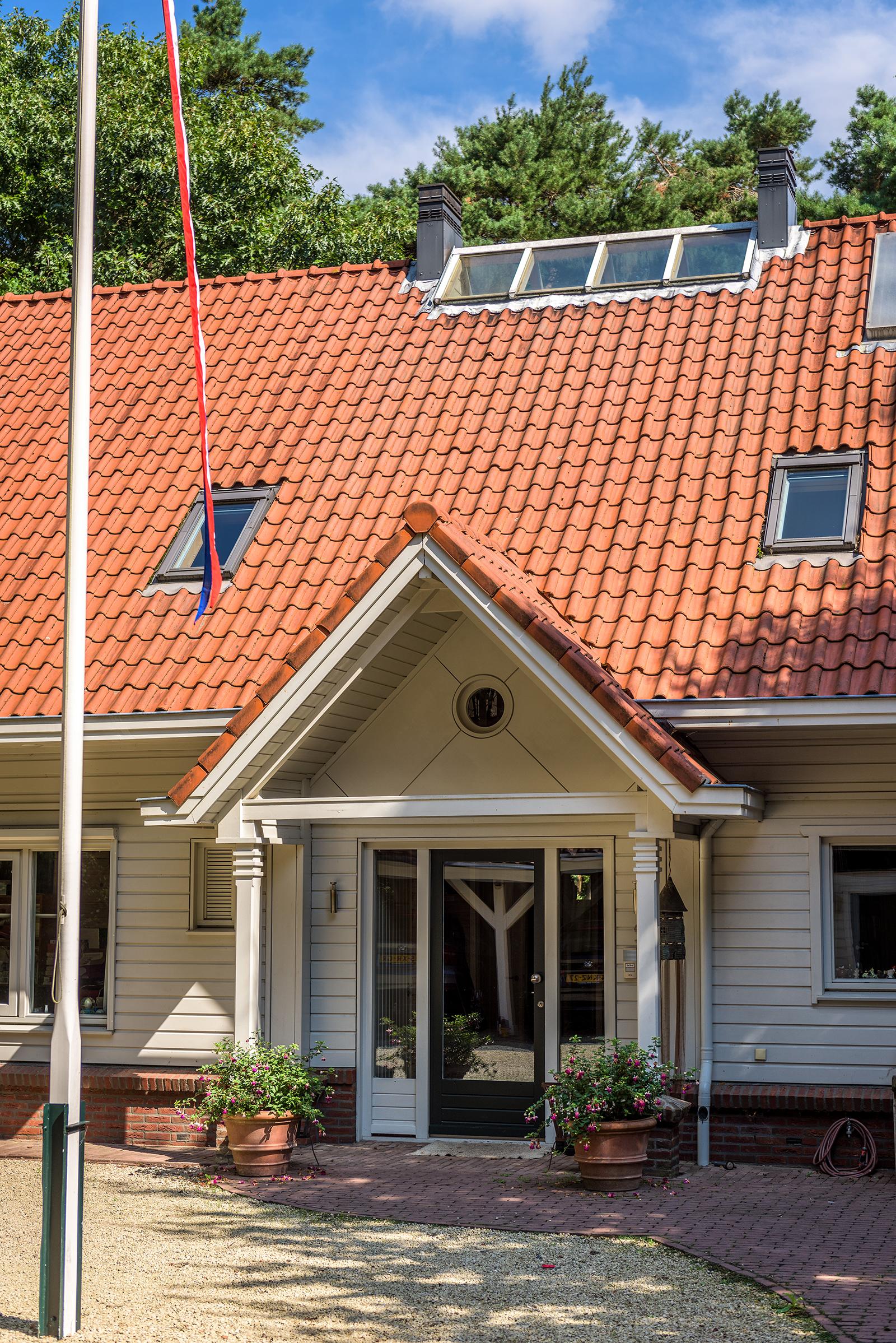 Landhuis in het bos - Finnlogs houtbouw bv